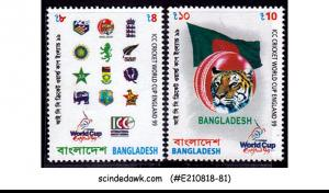 BANGLADESH - 1999 ICC CRICKET WORLD CUP ENGLAND 99 / SPORTS 2V MNH