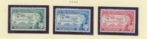 Barbados Scott #248 To 250, West Indies Federation, British Carribean Common ...