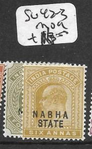 INDIA NABHA (P3009B) KE 42-3  MOG