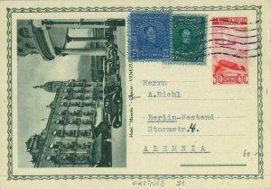 93397 - VENEZUELA - Postal History -  STATIONERY CARD -  ARCHITECTURE cars