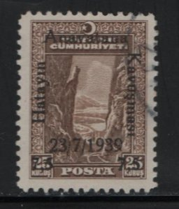 TURKEY, 825, USED, 1939, SURCHARGED