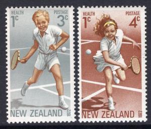 New Zealand MH B85-6 Tennis 1972