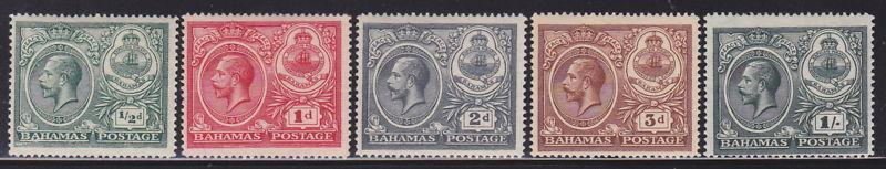 Bahamas 65-69 VF-OG-MH set scv $ 34 ! see pic !