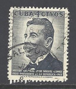 Cuba Sc # 594 used (DT)