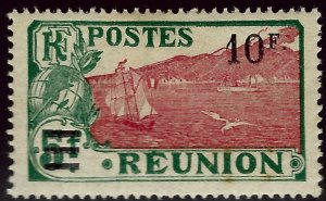 Reunion Sc #120 Mint OG F-VF hr...French Colonies are Hot!