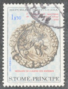 DYNAMITE Stamps: St. Thomas & Prince Islands Scott #396 – USED