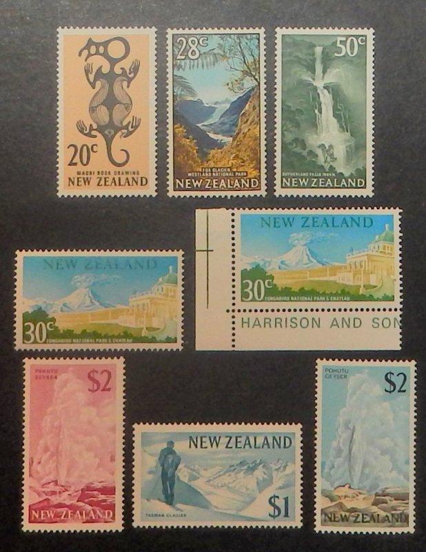 New Zealand 382-404. 1967-70 1/2c - $2.00 Definitives, NH