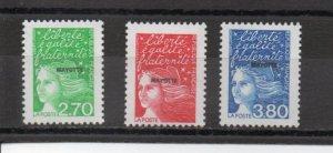 Mayotte 95-97 MNH