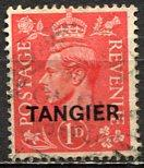 Great Britain - Morocco - Tangier 1937: Sc. # 516 O/Used Single Stamp