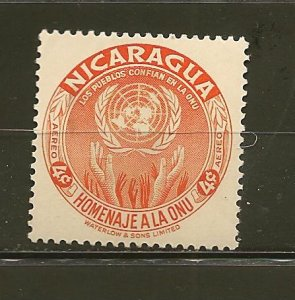 Nicaragua C340 Airmail Mint Hinged