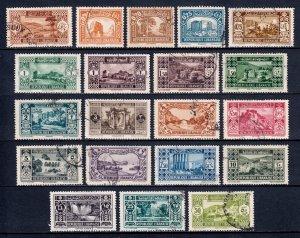 Lebanon - Scott #114//133 - Short #134 - Used - See description - SCV $47
