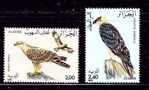 Algeria 703-04 MNH 1982 Birds part set