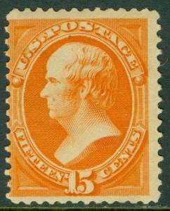 EDW1949SELL : USA 1879 Sc #189 MOG VVLH in upper left corner PSAG Cert. Cat $200