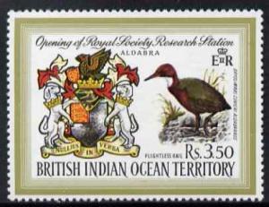 British Indian Ocean Territory 1971 Opening of Royal Soci...