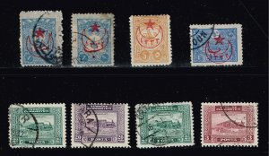 TURKEY STAMP COLLECTION LOT  #J3T7