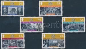 GB Isle of Man stamp Rotary, Europa CEPT set MNH 2005 Mi 1217-1222 WS176644