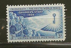 USA 1085 Childrens Stamp 1956 MNH