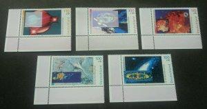 Germany Cosmos & Galaxy 1999 Space Satellite (stamp margin MNH *Hologram unusual