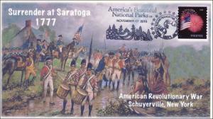 2015, Surrender at Saratoga, America's National Parks, Revolutionary War, 15-279