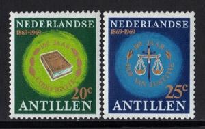 Netherlands Antilles 1969 MNH Court of Justice complete