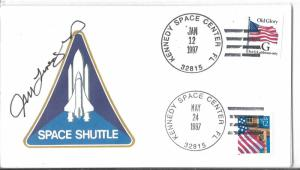 STS-81 launch/ STS-84 landing cover