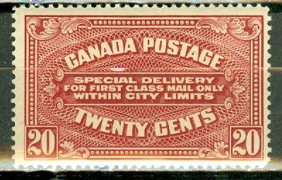 B: Canada E2 MNH CV $220