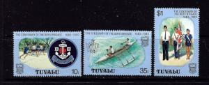 Tuvalu 204-06 NH 1983 Boys Brigade