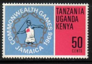 Javelin Thrower, Kenya, Uganda, Tanzania SC#165 MNH