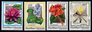 [64889] Gabon 1984 Flora Flowers Blumen  MNH