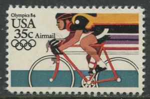 USA- Scott C110 - Summer Olympics -1984 -MLH - Single 35c Stamp