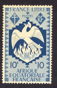 French Equatorial Africa 143 MH