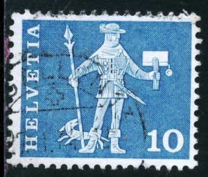 SWITZERLAND #382, USED - 1960 - SWIT109