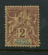 French Guinea #2 Mint