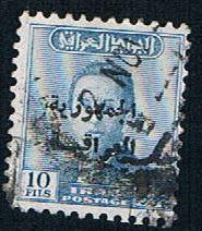 Iraq 199 Used King Faisal overprint (BP497)