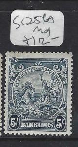 BARBADOS  (PP1903B)  5/-    SG 256A      MOG