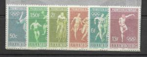 Luxembourg MNH Set 460-5 olympics Lot of 5, 2014 CV $9.00