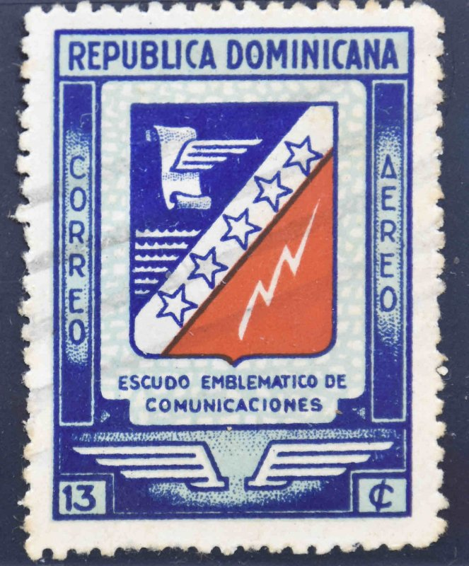 Dominican Republic Scott C55 Used stamp