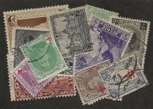 Nickel Auction. Belgium Older SPs u [al16]