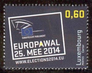2014 Luxembourg 2009 EUROPAWAL 1,40 €