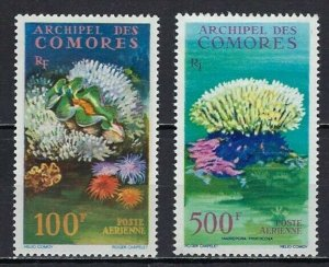 COMORO ISLANDS #C5-6 MINT, VF, NH - PRICED AT LESS THAN 1/2 CATALOG!