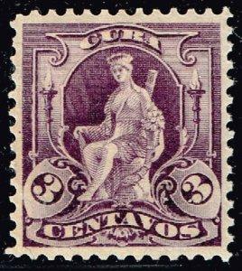 US CUBA STAMP #229 3C 1899 MH/OG  XFS  SUPERB