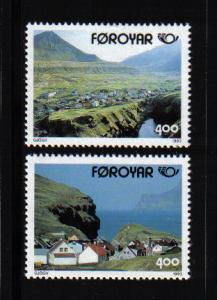 Faroe Islands 1993  Gjogv   nordic countries complete
