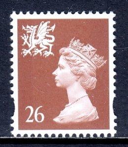 Great Britain (Wales) - Scott #WMMH74 - MNH - SCV $2.00