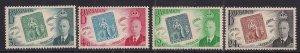 Barbados 1952 KGV1 Set Stamp Centenary Umm SG 285 – 288 ( J806 )