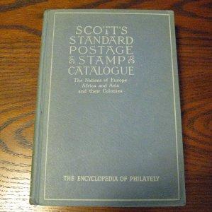 1950 Scott Standard Stamp Catalogue - Europe-Asia-Africa