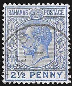 Bahamas SC 51 * George V * Used * 1912