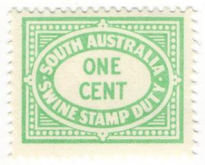 (I.B-CK) Australia - South Australia Revenue : Swine Duty 1c