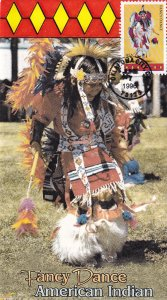1996, American Indian Fancy Dance, Unknown Artist, FDC (E12243)