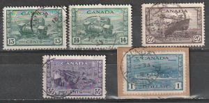#258-262 Canada Used