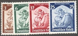 Germany 448-51 Mint VF NH